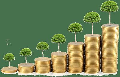Зростання накопичень при розміщення депозиту в банку України